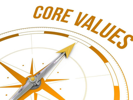 A Father's Core Values