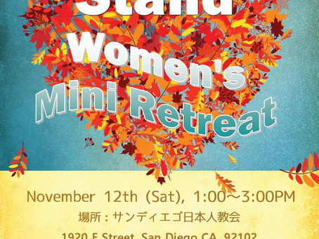 """Stand"" Women's Mini Retreat"