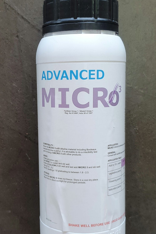 Advanced Hydro Nutrients Micro