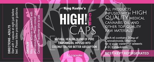 KK HIGH CBD CAPS