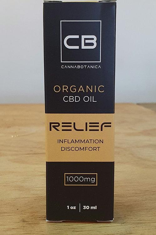 CannaBotanica Relief Organic CBD oil