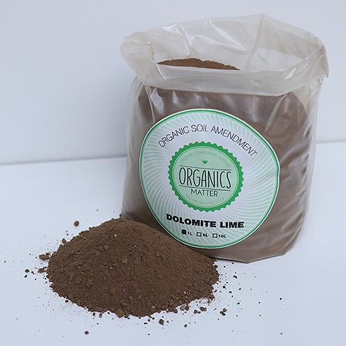 Organics matter Dolomite Lime