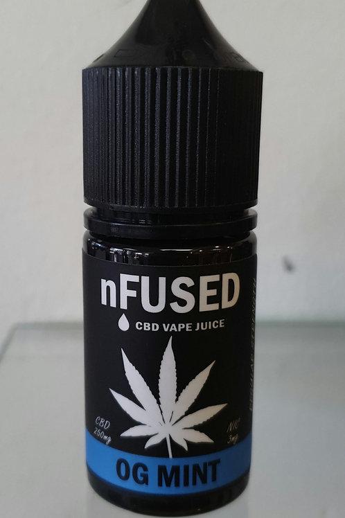 nFUSED CBD Vape Juice