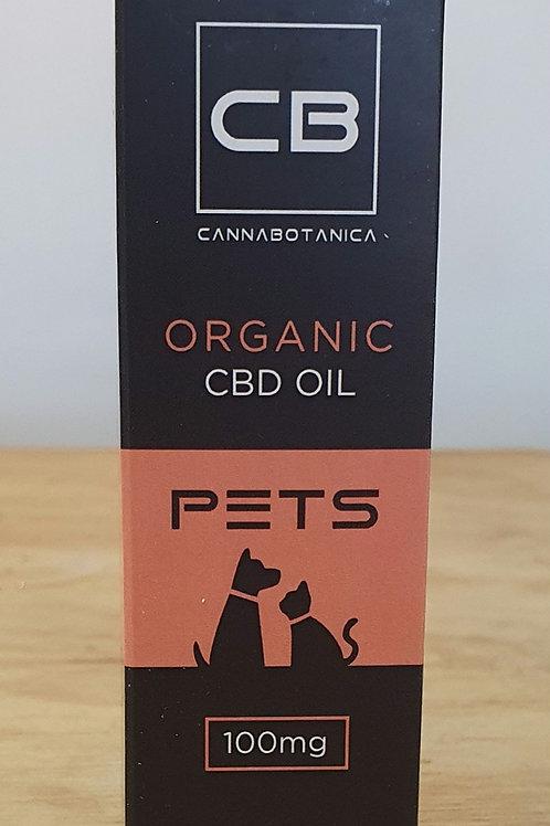 CannaBotanica Pets Organic CBD oil