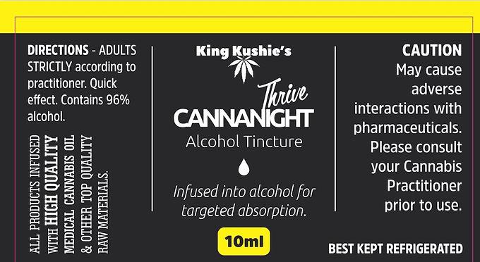 KK CANNANIGHT ALCOHOL TINCTURE 10ML