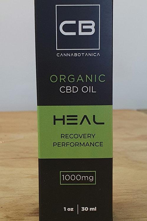 CannaBotanica Heal Organic CBD oil