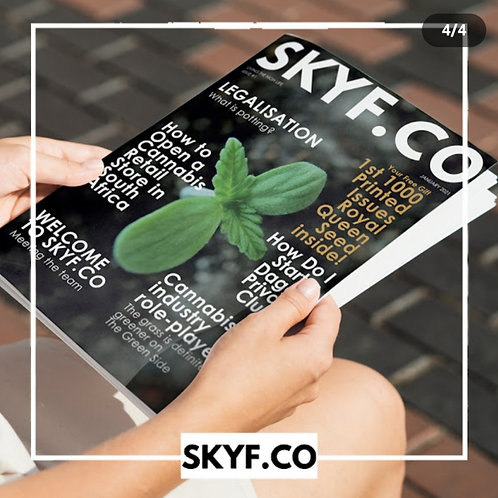 Skyf  Co. Magazine (various issues)