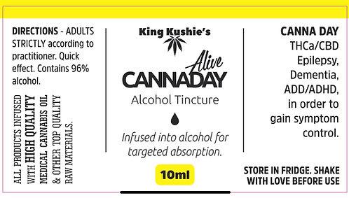 KK CANNADAY ALCOHOL TINCTURE 10ML