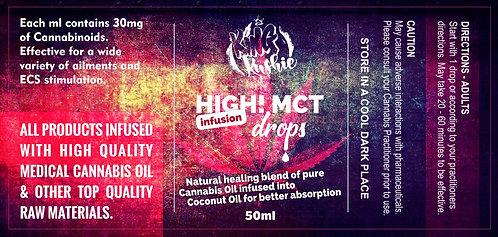 KK HIGH MCT DROPS 50ML