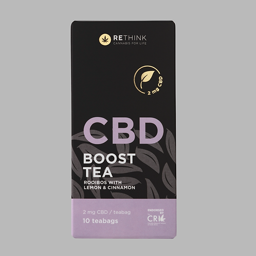 RETHINK CBD boost tea