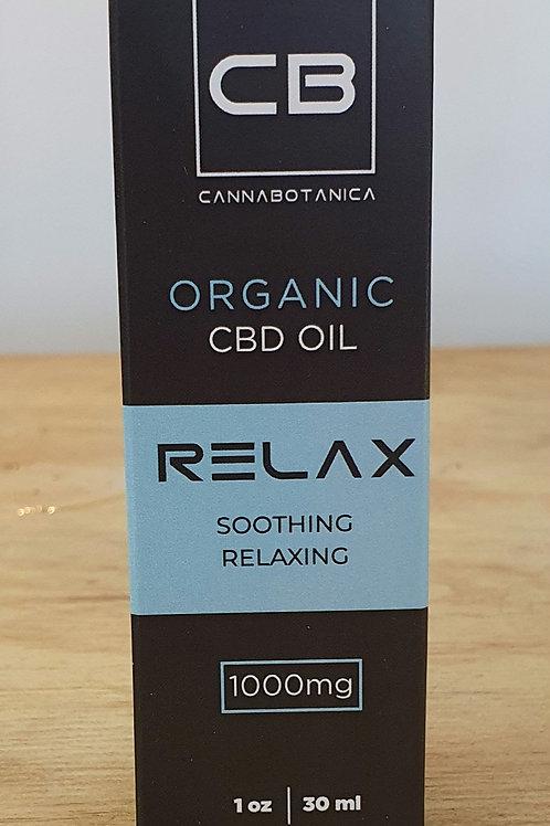 CB Relax Organic CBD Oil
