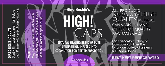 KK HIGH THC CAPS