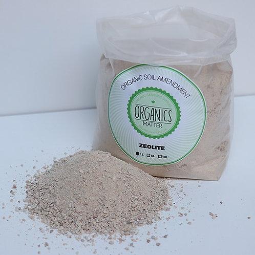 Organics matter Zeolite