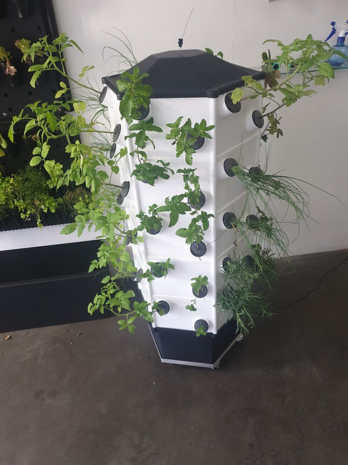 Aeroponic NTF Tower
