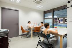 La salle d'étude