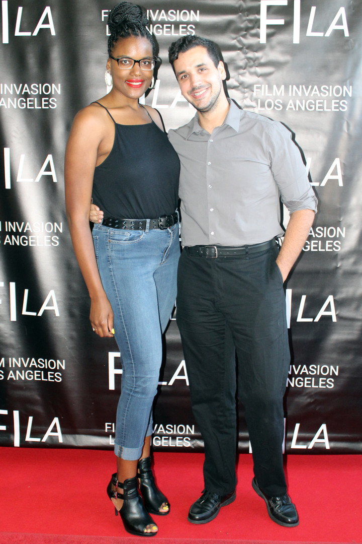 Actress Niya Wright and Director Nate Ha