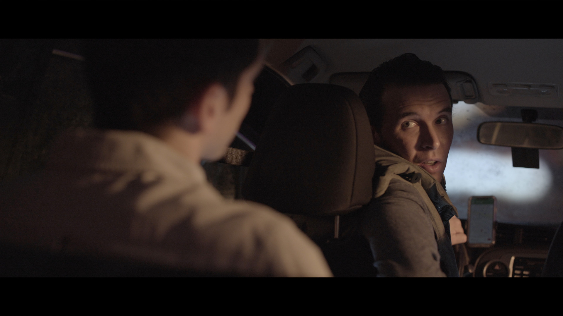 Jack Thomas Williams in Ride Share.