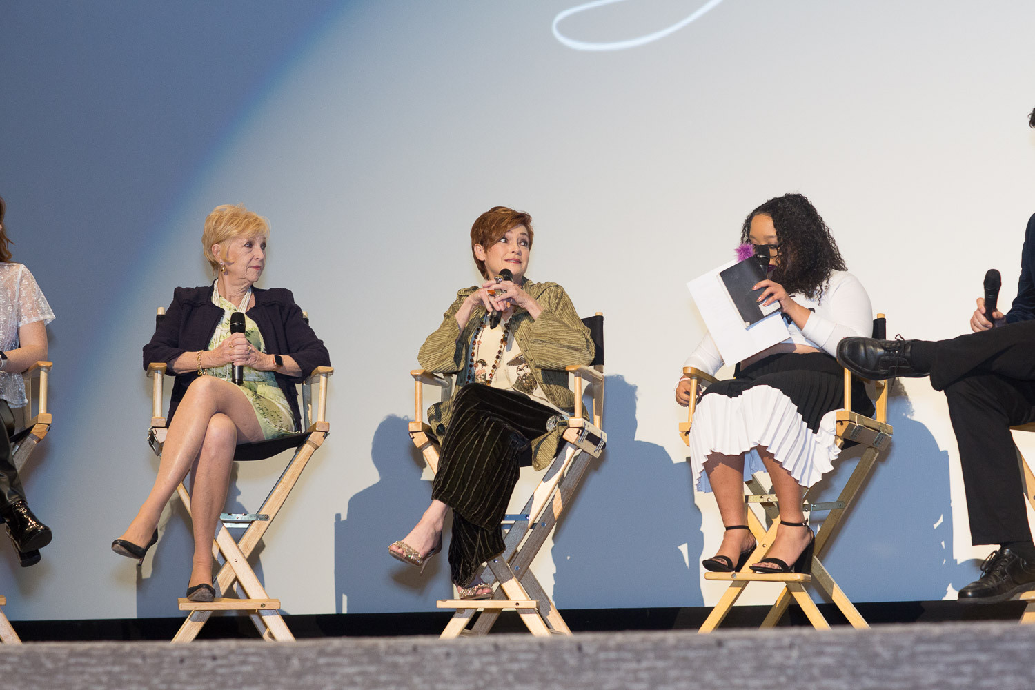 Actress Carolyn Hennesy during Q&A