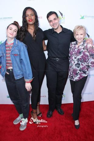Walking the red carpet at our LA Festival Premiere, the 2019 NoHo CineFest.