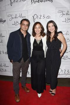 Dominic Zamprogna, Danielle Rayne, and Julie Romano on the red carpet.