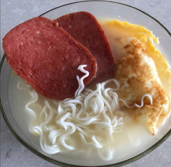 Egg Luncheon Huai Shan Noodles