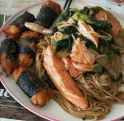 dry huai shan noodle