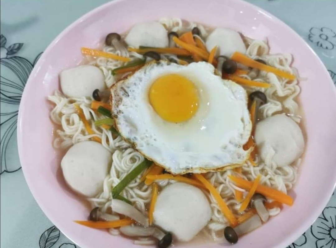 hubby fried noodles