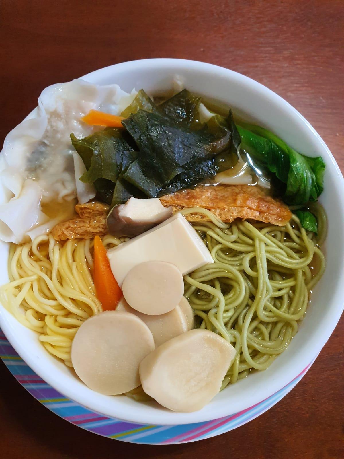 Moringa & Pumpkin noodles