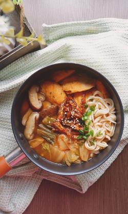 kitchen life kimichi huaishan noodles