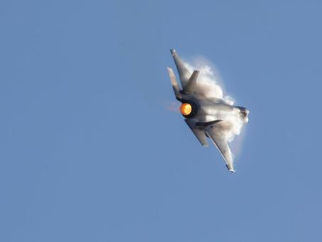 F35 Lightning fighter jets landing at RAAF Richmond tomorrow…