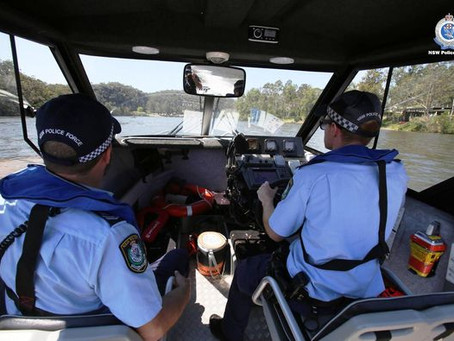 Police water blitz - fines, 59 breath tests, drug tests, warnings, on day one of operation