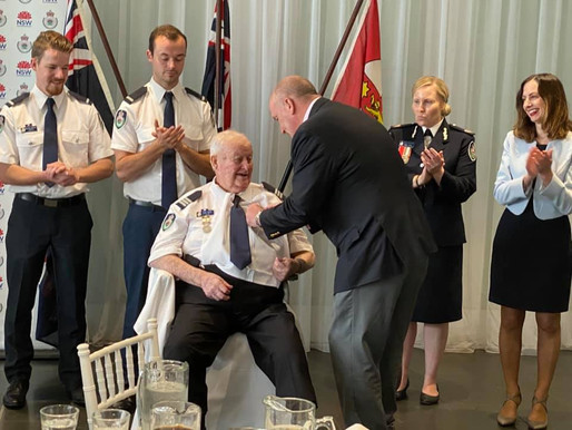 Oakville's legendary RFS commander given top honour