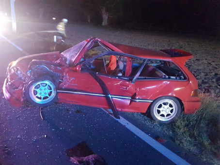 UPDATED - Serious vehicle accident on Freemans Reach Rd