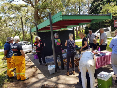 Mt Tomah and Bilpin communities in union forged by fire