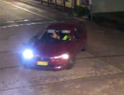 Police on lookout for red car driver after Windsor rego plate thefts