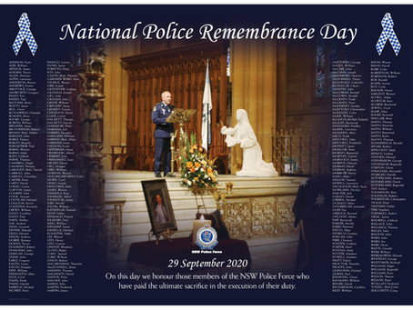 They protect, they serve, and sometimes they pay the ultimate sacrifice - let's remember them