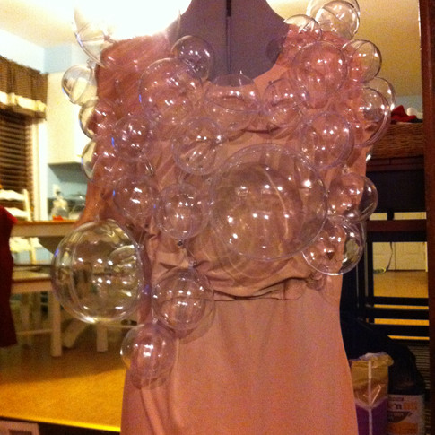 Bubble Costume Stage Two