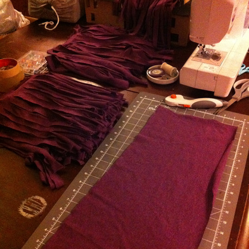 Working on Costumes for Tarzan the Musical - Milburn Stone Theatre