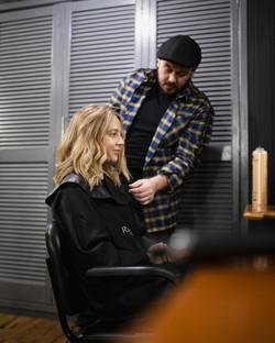 Ste - Doing Hannah's Hair.jpg