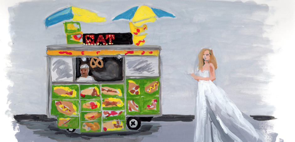 painting bride and hotdog stand.jpg