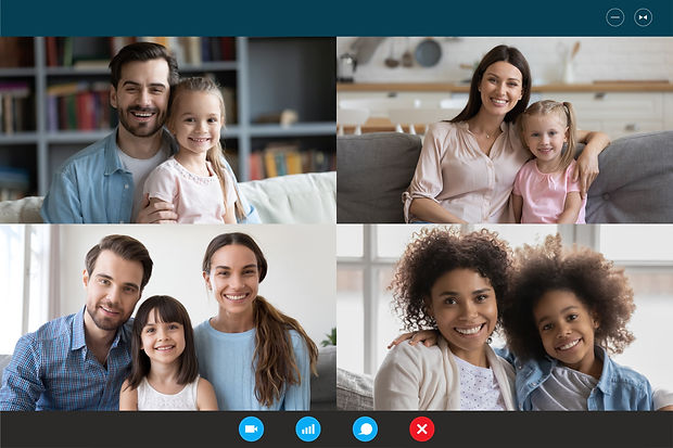 Modern technology, visual virtual on-lin