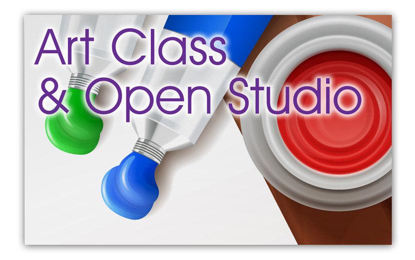 Art Class & Open Studio-Suspended