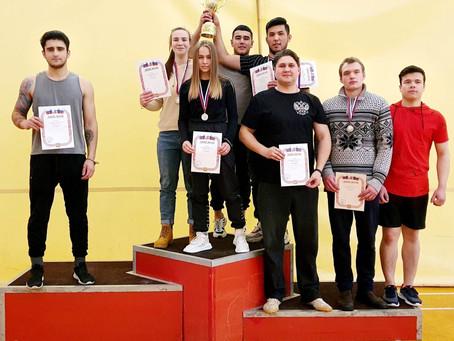 Прошел 6-ой Студенческий Чемпионат по армрестлингу