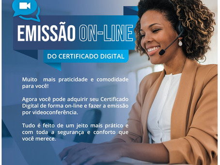 Certificado Digital Online
