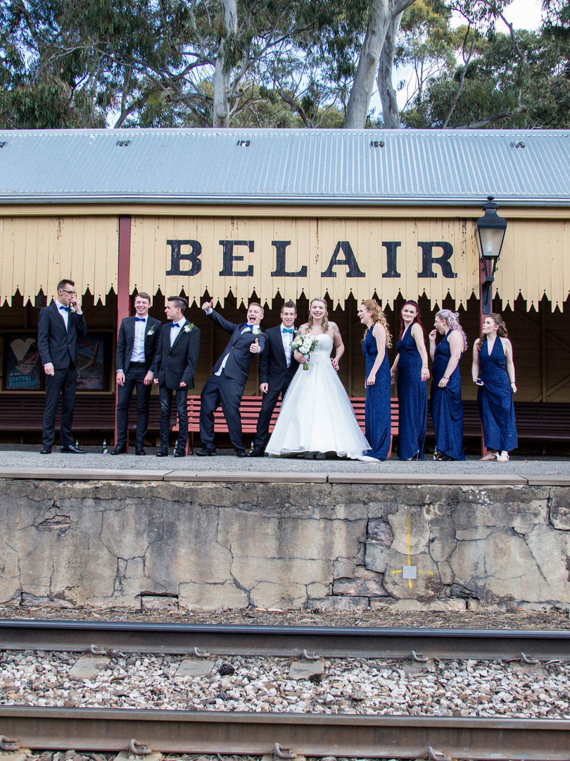 ADELAIDE WEDDING PHOTOGRAPHER - BELAIR W