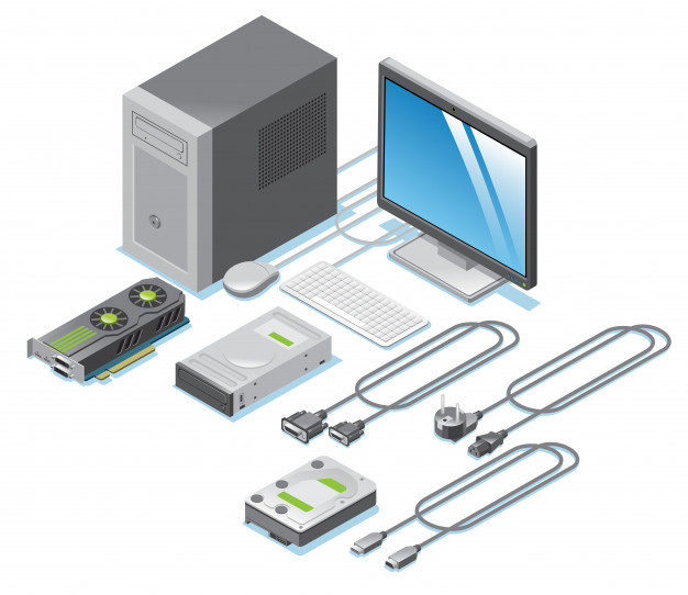 Computer input and output device