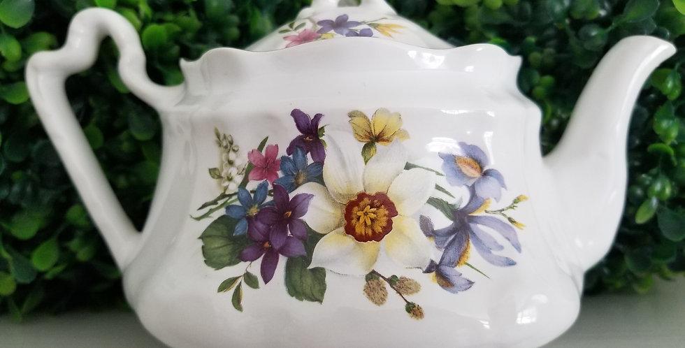 Arthur Wood & Sons 2 Cup Teapot Wild Bouqet