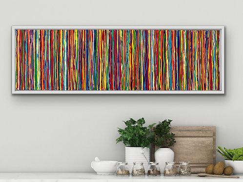 Candy 45x150 framed