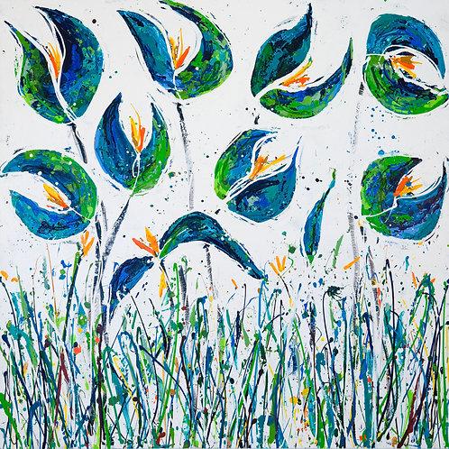 Seeds 150x150cm