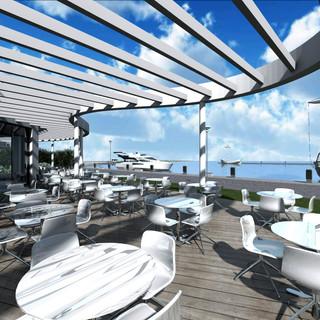 Terrace view restaurant